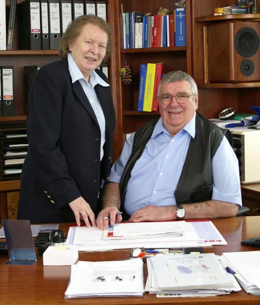 Bertold und Elisabeth Volk