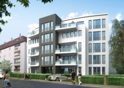 Iwes Zentro, Westanlage, Gießen