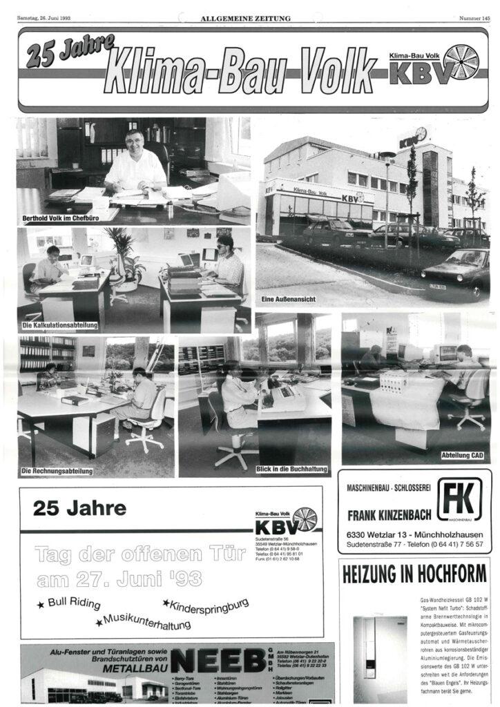 25 Jahre KBV