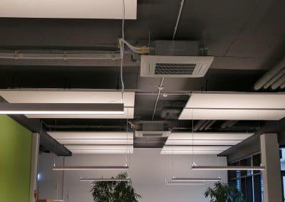 In der Mina-Rees-Straße klimatisierte Klima-Bau Volk ein mehrstöckiges Bürogebäude.
