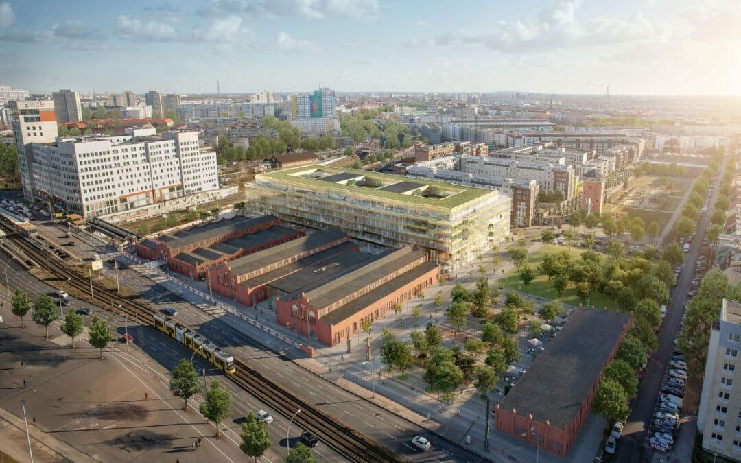 Klima-Bau Volk übernimmt Lüftung und Sanitär bei DSTRCT Berlin.