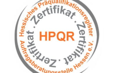 HPQR-Zertifikat für KBV