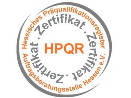 Klima-Bau Volk ist im Hessischen Präqualifikationsregister eingetragen