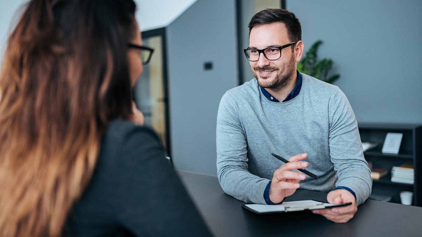 Stellenangebote Bewerbungsschritt Interview